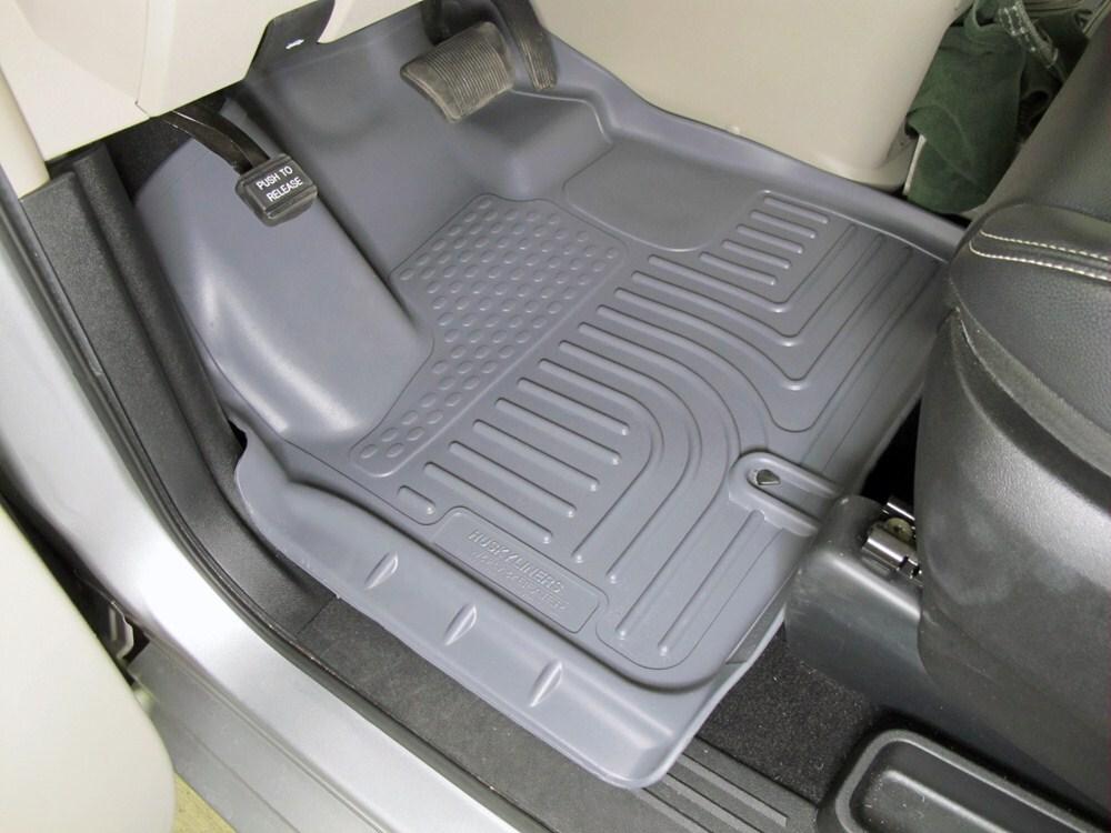 Floor Mats By Husky Liners For 2013 Grand Caravan Hl18092