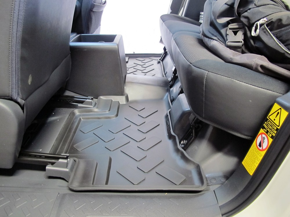 floor mats for 2012 toyota fj cruiser husky liners hl65961. Black Bedroom Furniture Sets. Home Design Ideas