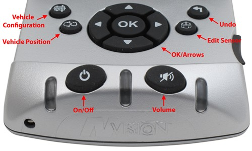 Hopkins TPMS Control Button diagram