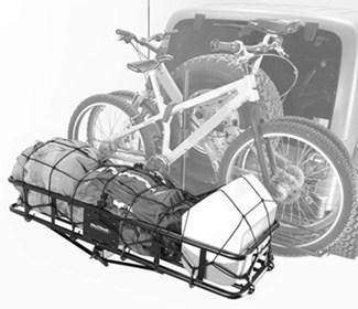 Hollywood Racks Sport Rider with Cargo Basket