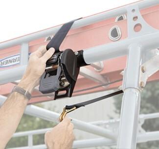 Cargobuckle Retractable Ratchet Strap For Ladder Racks 2