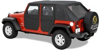 Jeep 2-Piece Door outside view
