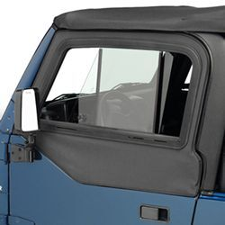 Jeep Upper Door Slider outside view