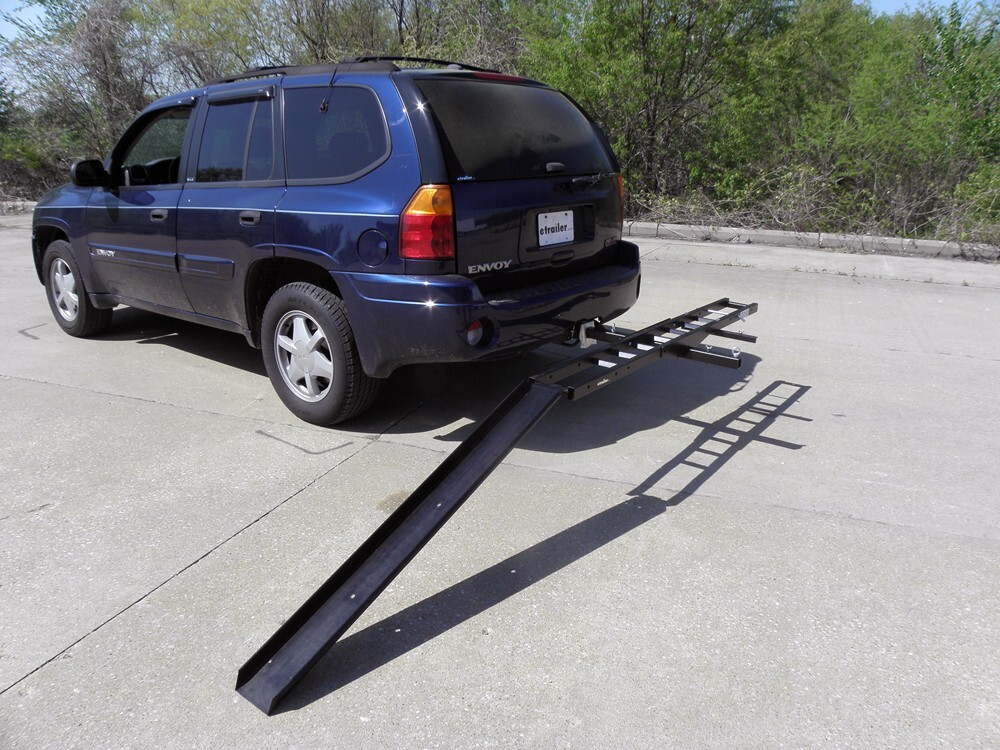 "Trailer Hitch Motorcycle Carrier >> Rage PowerSport Steel Motorcycle Carrier for 2"" Hitch Receiver - 600 lbs Rage Powersports Hitch ..."