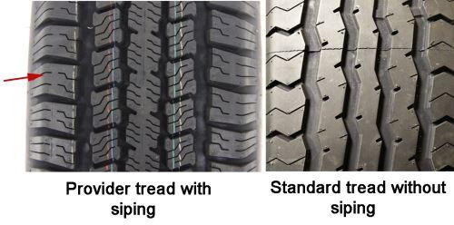 Provider ST215/75R14 Radial Trailer Tire - Load Range C ...