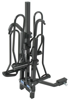 Pro Series Q-Slot bike rack bail pins at the rack base