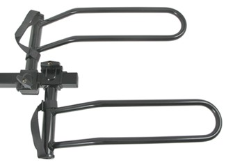 Pro Series Q-Slot bike rack sliding wheel hoops