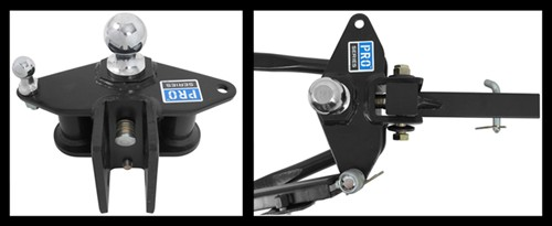 Pro Series Weight Distribution adjustable head from top and side