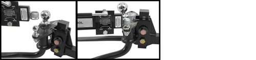 Pro Series Weight Distribution friction sway control installation on hitch head