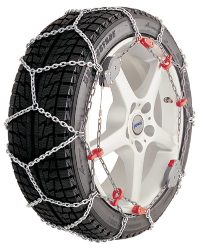 Dodge Grand Caravan, 2001 Tire Chains Pewag PWSMX75