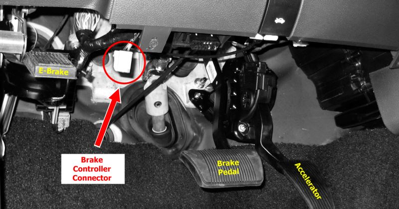 2015 Ram Trailer Brake Controller Install on tekonsha prodigy wiring diagram