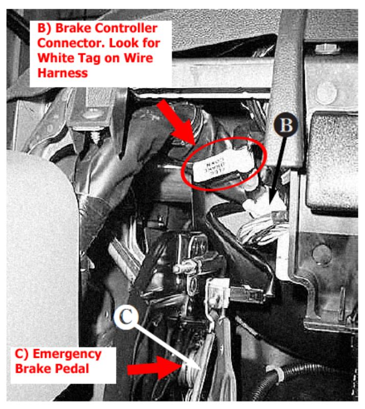 brake controller wiring adapter for 2015 nissan frontier etrailer