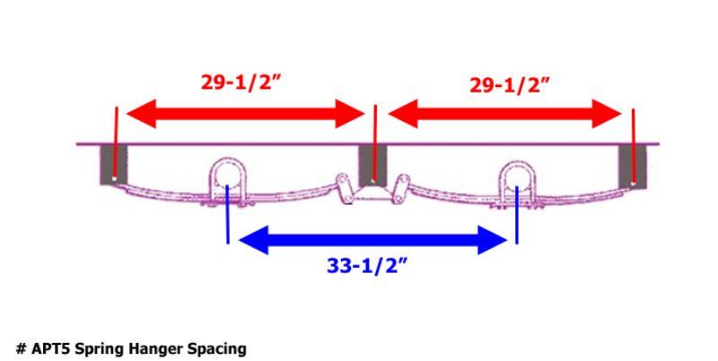 Ideal Leaf Spring Hanger Spacing For Tandem Axle Trailer