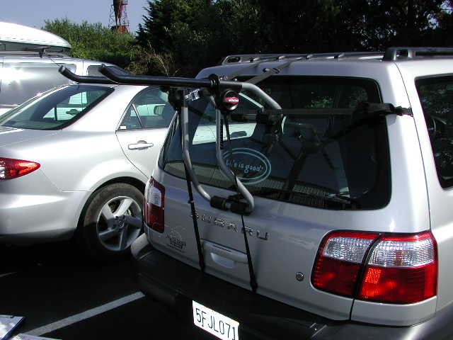 Which Trunk Hatch Mounted Bike Racks Will Fit My 2001