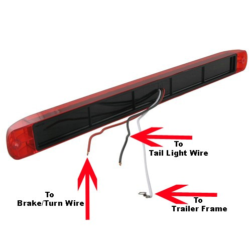 1996 led trailer light kit moreover utility trailer stop turn tail light  on 1997 s10 wire harness