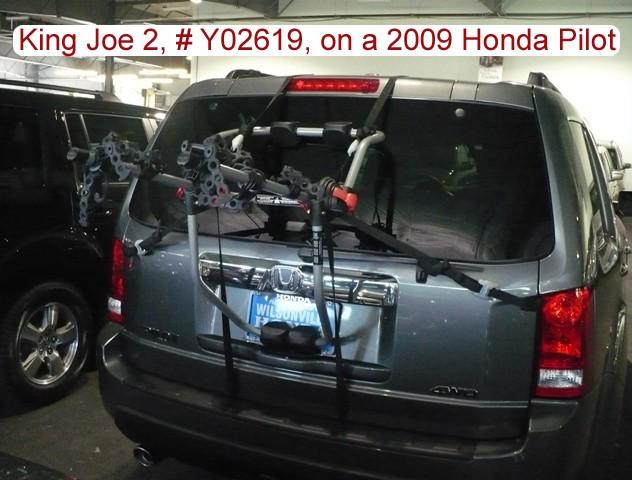 Trunk Mount Bike Rack Recommendations for a 2009 Honda Pilot | etrailer.com