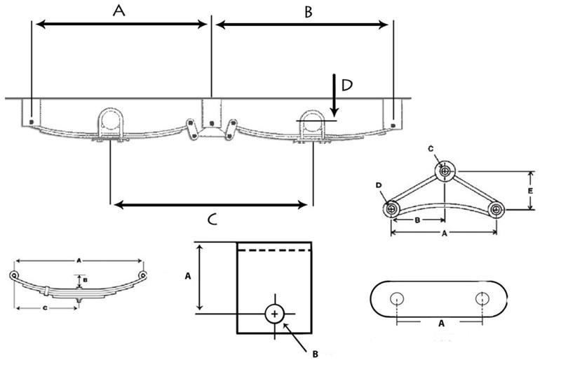 Tandem Axle Utility Trailer Diagram Com