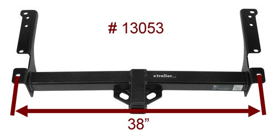 curt trailer hitch   13053 bolt hole dimensions