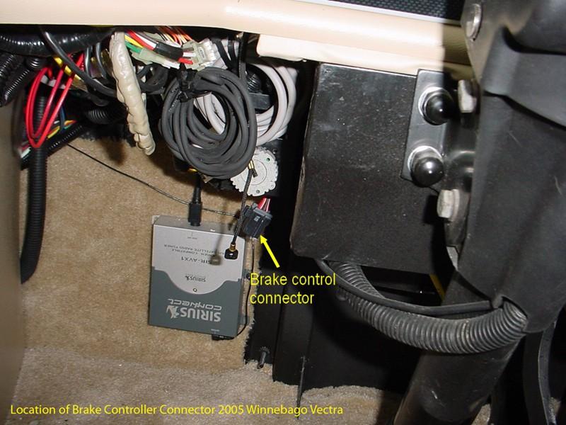 Prodigy Brake Controller >> Brake Controller Install on 2005 Winnebago Vectra   etrailer.com
