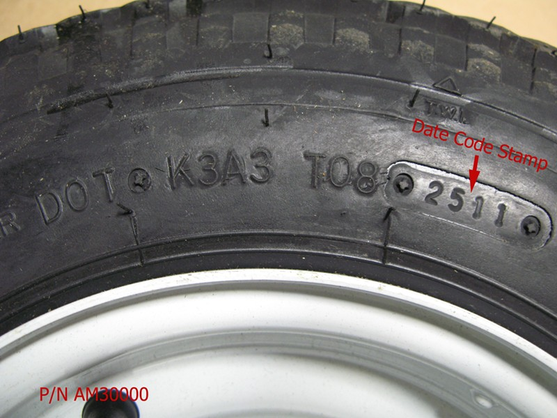 How Old Are My Trailer Tires - Plug in your DOT Code and find out
