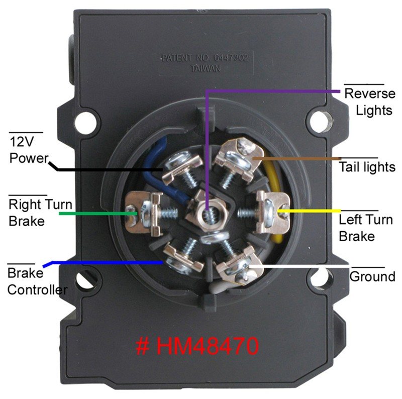 Contemporary Pollak 12 705 Trailer Plug Wiring Diagram Picture