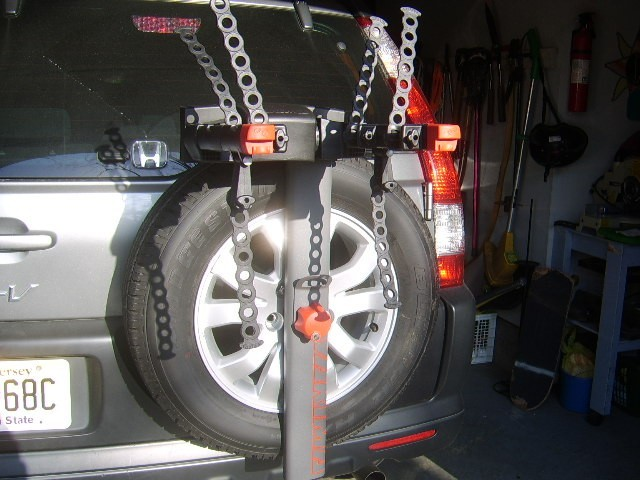 Thule Spare Me Bike Rack Recommendation For A 2006 Honda