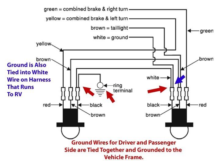 cadillac tail light wiring diagram