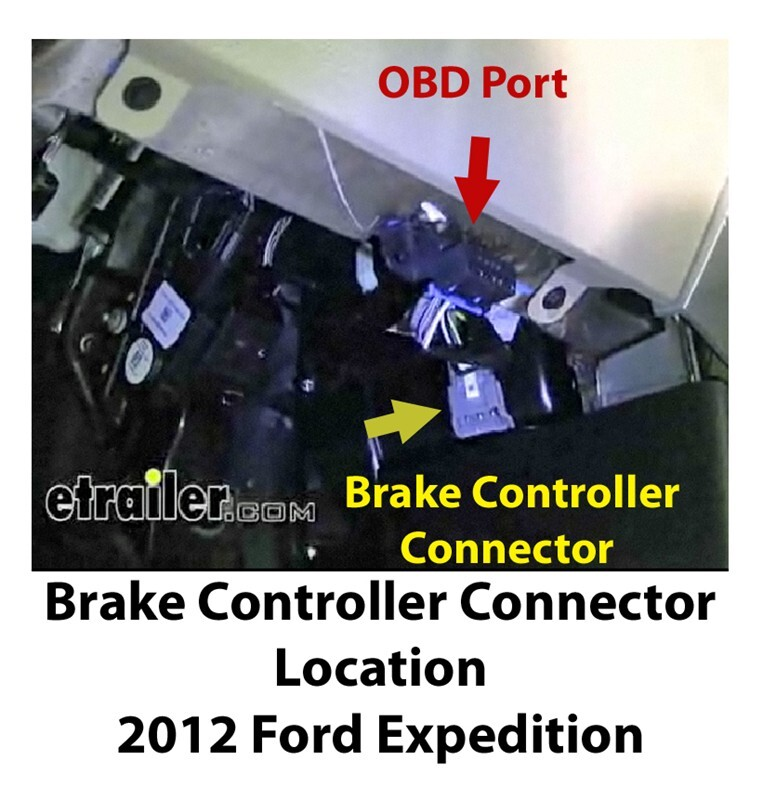 Installing Brake Controller On 2012 Ford Expedition