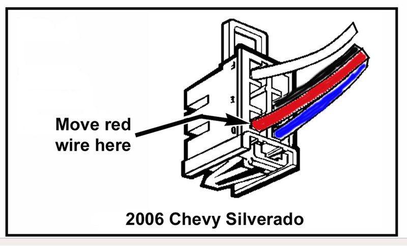 chevrolet silverado trailer wiring harness