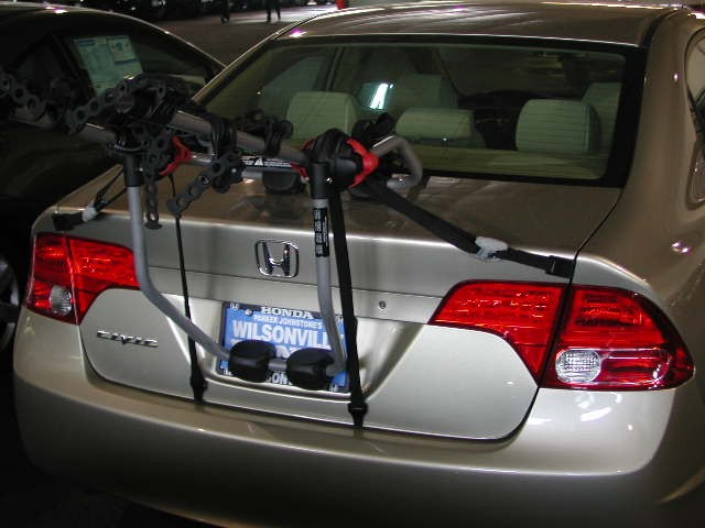 Will The Yakima Kingjoe Trunk Mount Bike Racks Fit A 2009