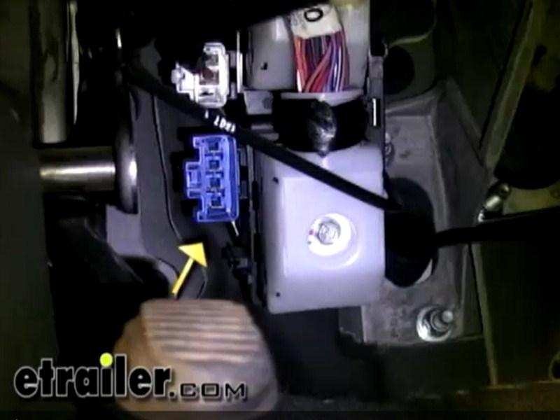 Where Is The Brake Controller Port On A 2006 Dodge Dakota