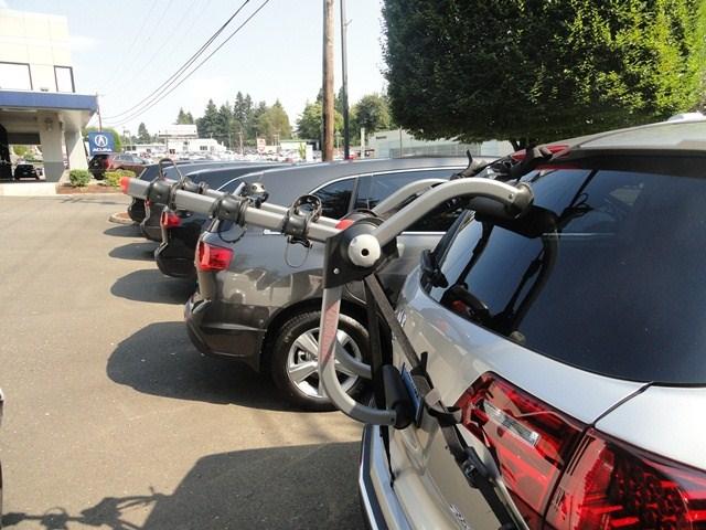 Hitch Bike Rack Reviews >> Will the Yakima KingJoe Pro 3 Trunk Bike Rack fit a 2012 Acura MDX | etrailer.com
