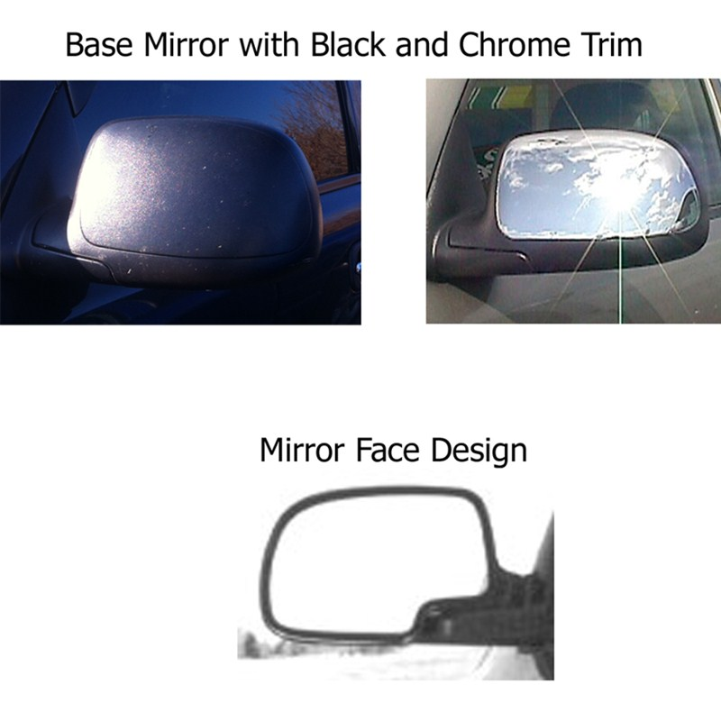 Towing mirror recommendation for a 2001 gmc sierra with for Mirror questions