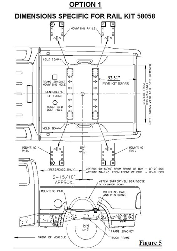 2006 ford f250 bed dimensions