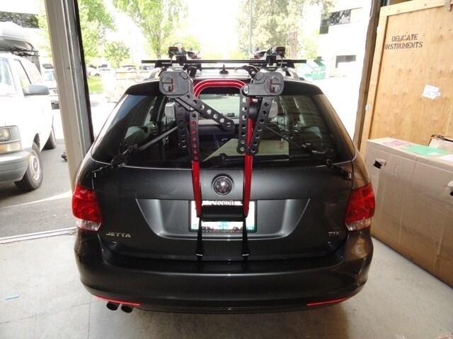 yakima superjoe pro trunk mount bike rack fit   volkswagen jetta sportwagen