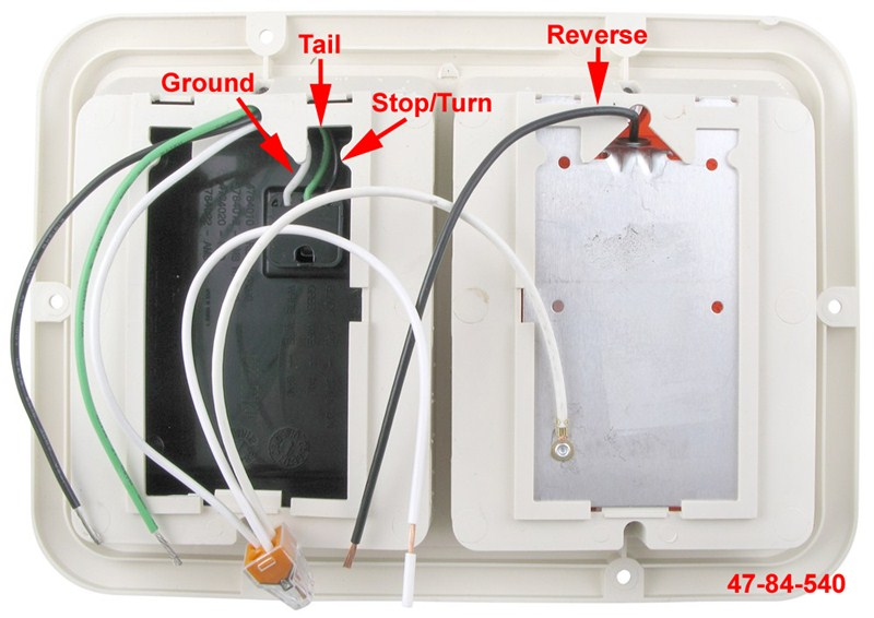 Diagram Wiring Bargman Double Tail Light 47