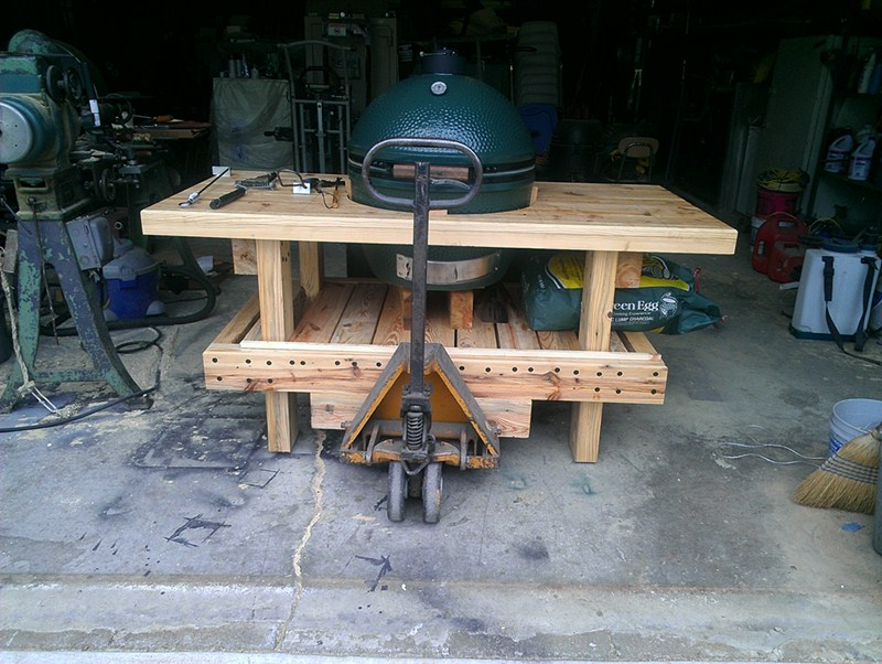 large green egg table kit