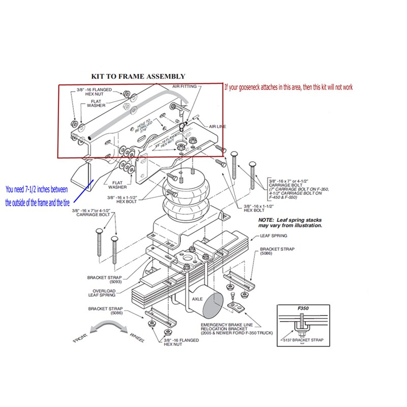 suspension recommendation for a 2011 ford f