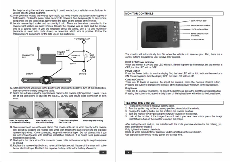 backup camera wiring instructions backup image backup camera wiring instructions backup auto wiring diagram on backup camera wiring instructions