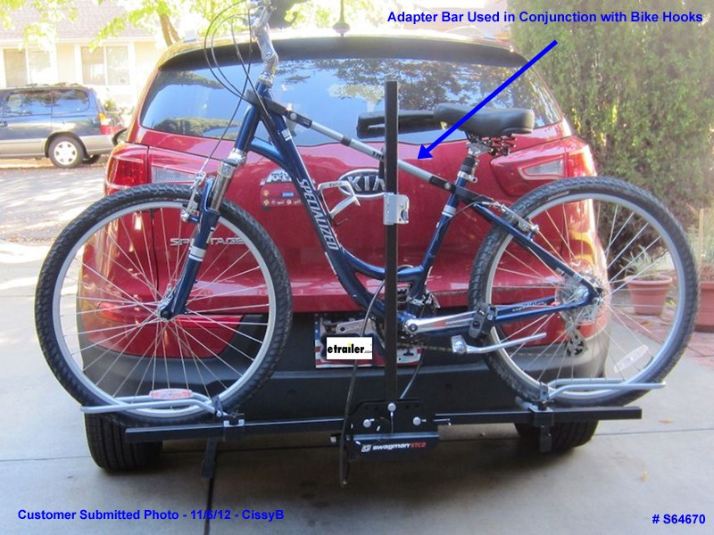 Will The Swagman Xtc 2 Platform Bike Rack Accomodate A