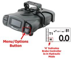 setting tekonsha p3 brake controller to electric over. Black Bedroom Furniture Sets. Home Design Ideas