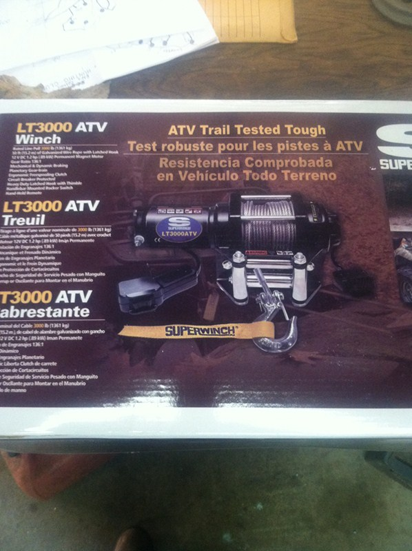 Will Superwinch Lt 3000 Rub The Sides Of The Tires On A
