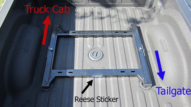Wheel package adapter recommendation for standard 5th wheel hitches