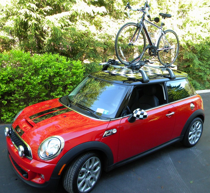 Mini Cooper Touring Bike Rack Holder Carrier