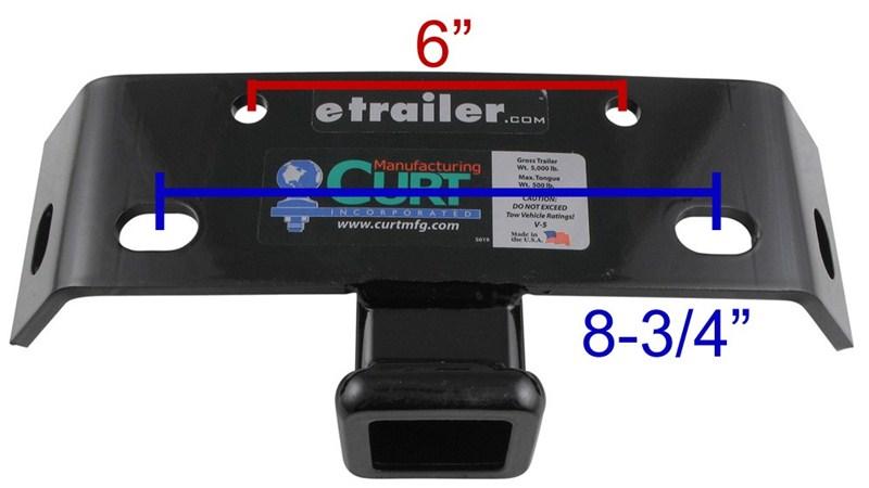 will curt bumper mount trailer hitch fit a 2014 toyota