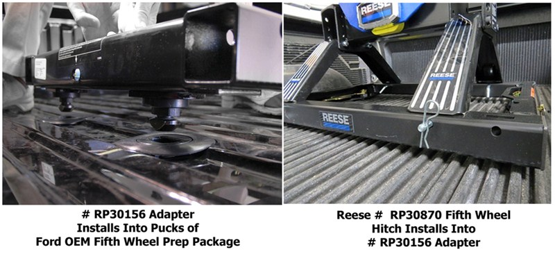 Installing Rail Mounted Fifth Wheel Hitch On 2014 Ford