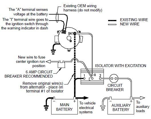 How To Wire Deka   Dw08771 Battery Isolator