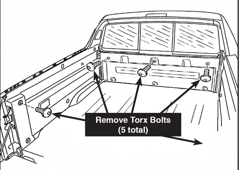is drilling required when installing access original soft tonneau cover on 2007 honda ridgeline