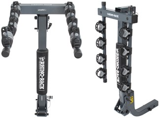 Rhino-Rack hitch-mounted bike rack folding dual arms