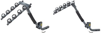 Rhino-Rack hitch-mounted bike rack tilting mast